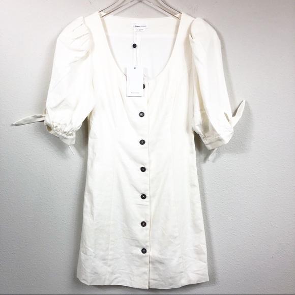 Lovers + Friends Dresses & Skirts - Lovers + Friends | Linen Blend Cream Mini Dress